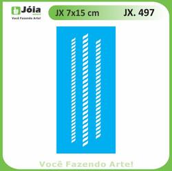 Stencil JX 497