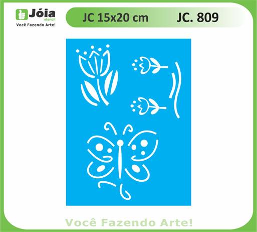 stencil JC 809