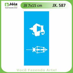 Stencil JX 587