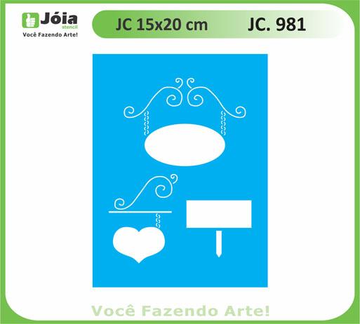 stencil JC 981