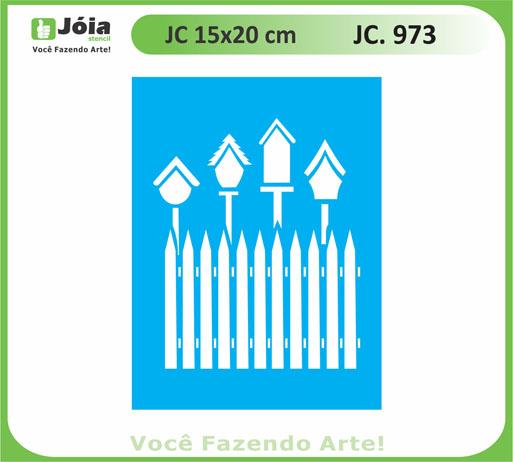 stencil JC 973