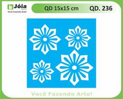 stencil QD 236