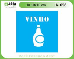 stencil JA 058