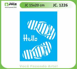 stencil JC 1226