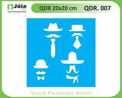 stencil QDR 007
