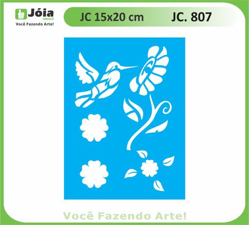 stencil JC 807