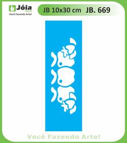 Stencil JB 669