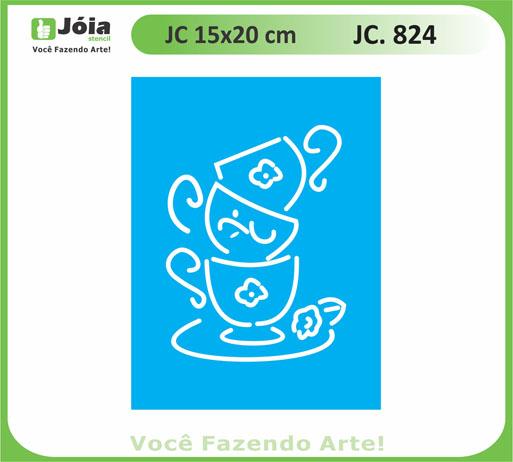 stencil JC 824