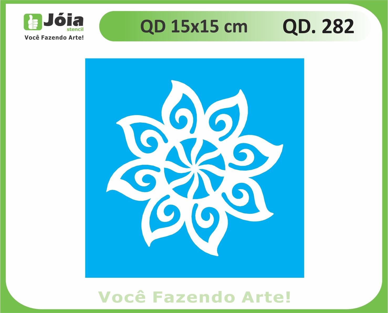 stencil QD 282