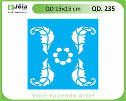 stencil QD 235