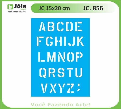 stencil JC 856