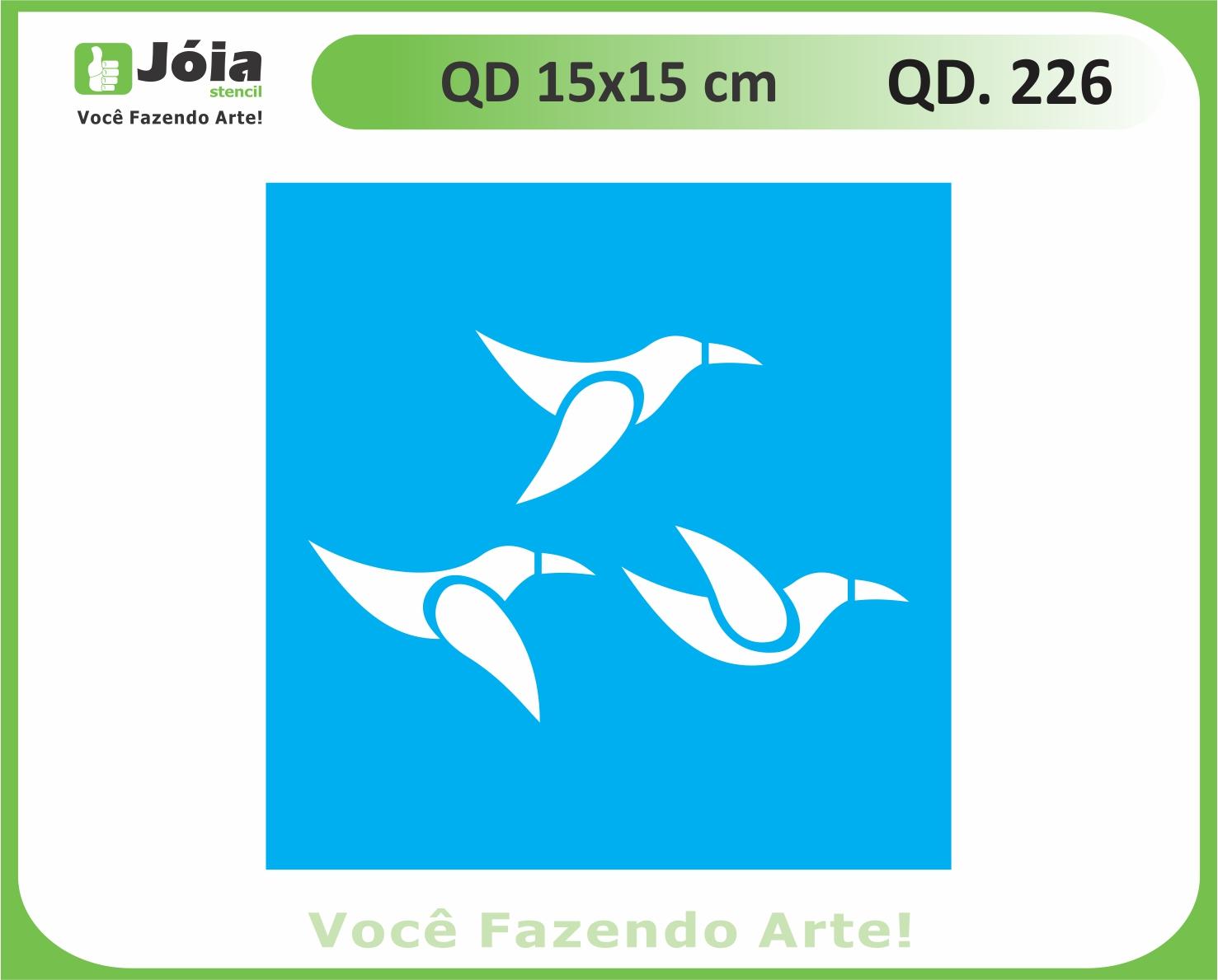 stencil QD 226