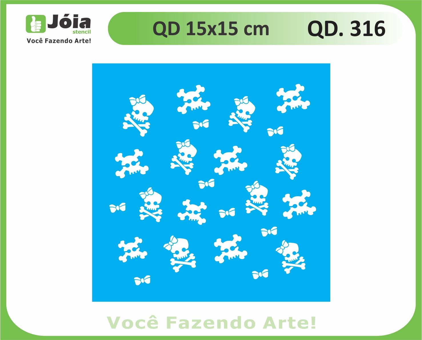 stencil QD 316
