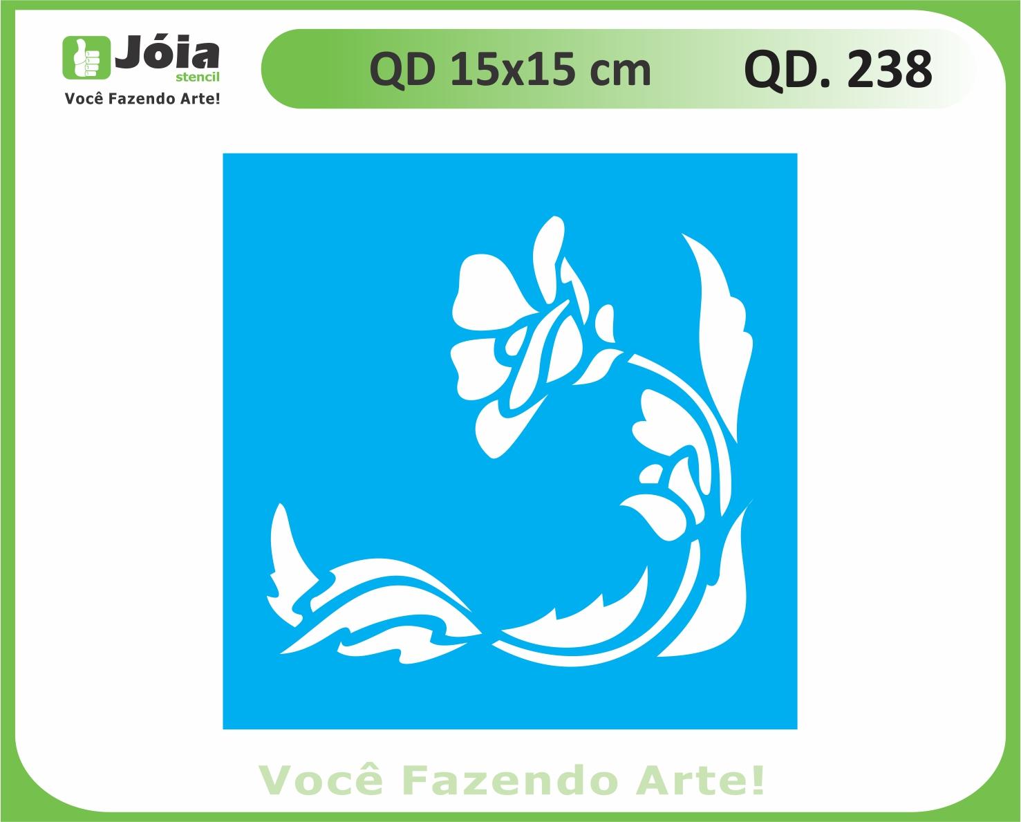 stencil QD 238