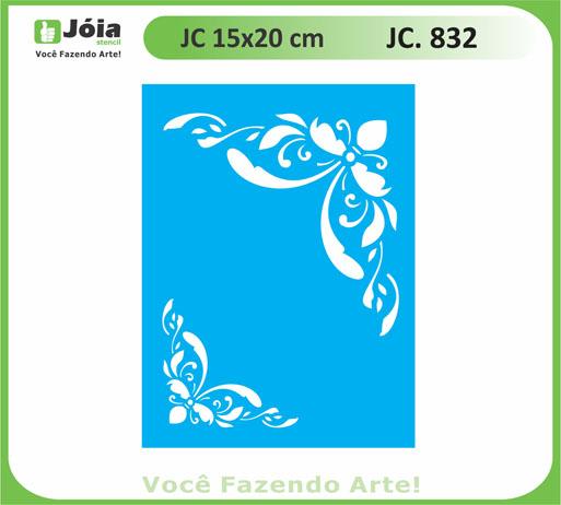 stencil JC 832