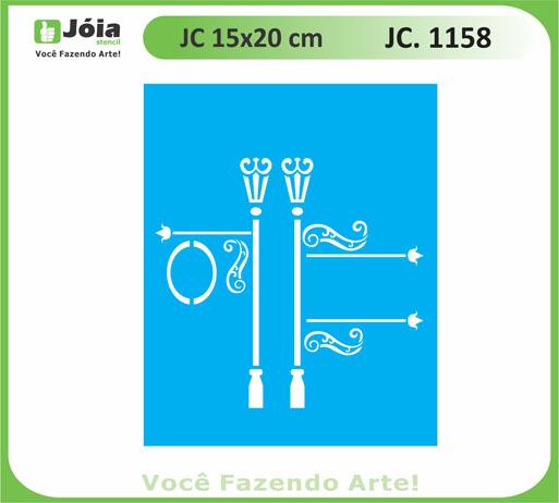 stencil JC 1158