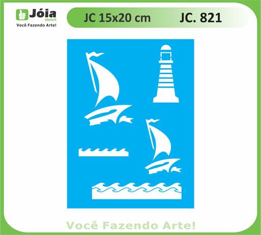 stencil JC 821