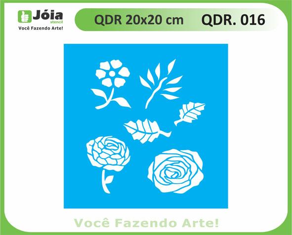 stencil QDR 016