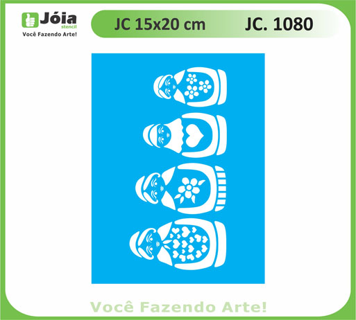 stencil JC 1080
