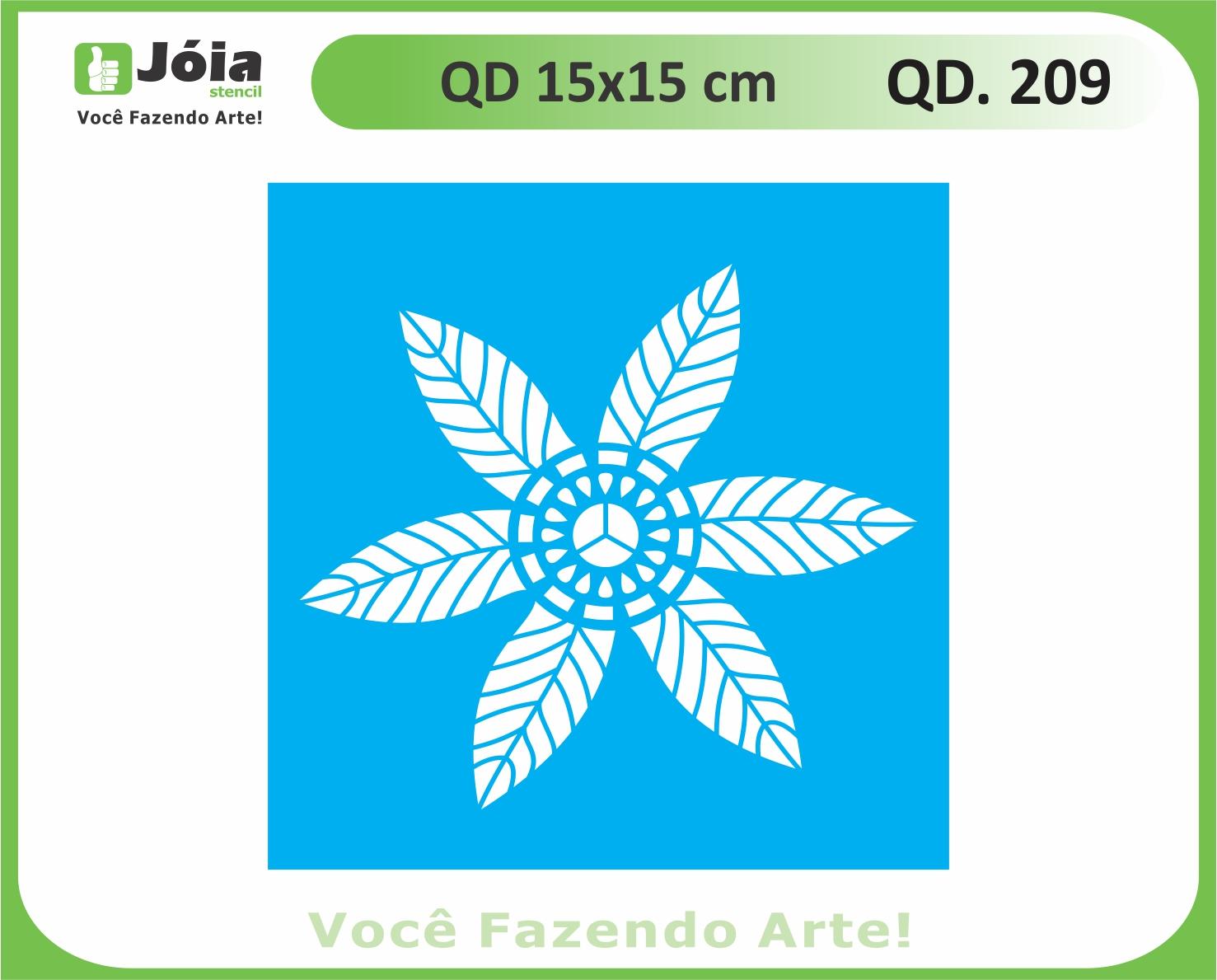 stencil QD 209