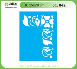 stencil JC 842