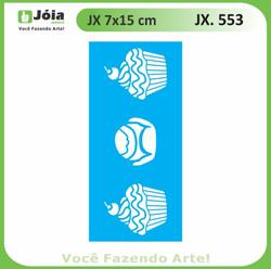 Stencil JX 553
