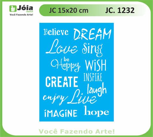 stencil JC 1232