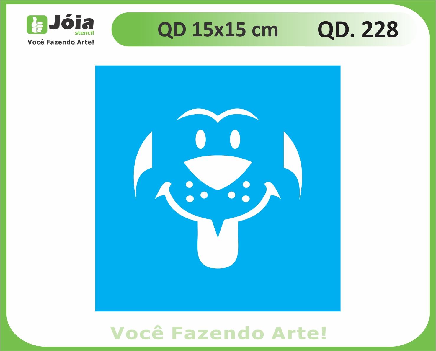 stencil QD 228
