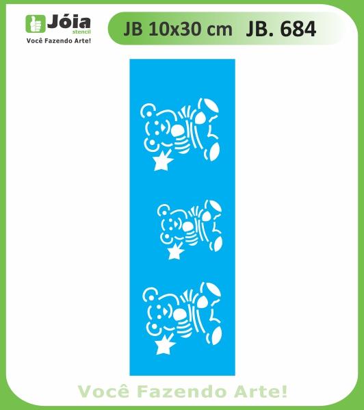 Stencil JB 684