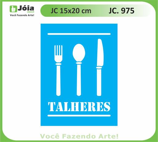 stencil JC 975