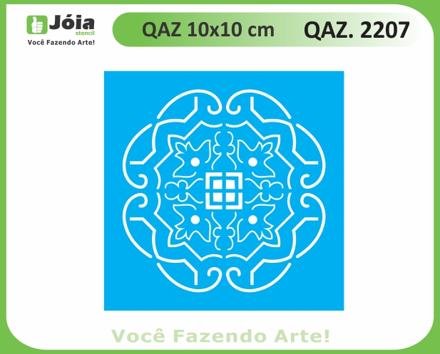 Stencil QAZ 2207