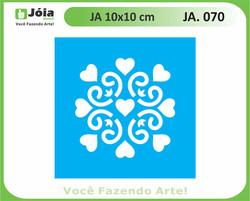 stencil JA 070