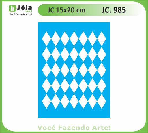 stencil JC 985