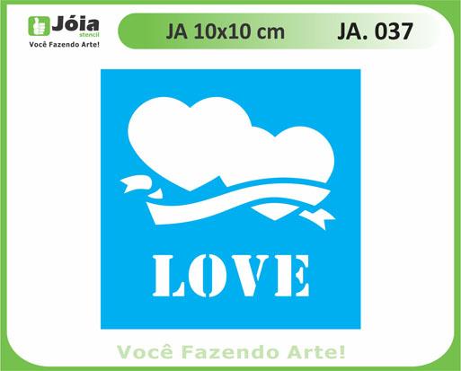stencil JA 037