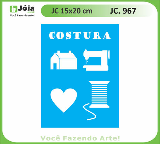stencil JC 967