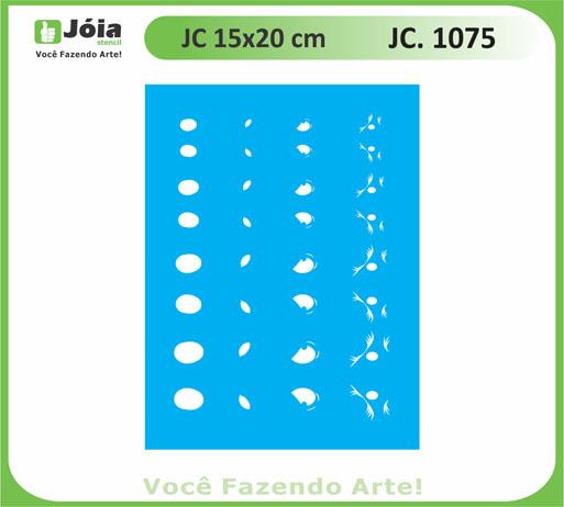 stencil JC 1075