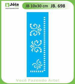 Stencil JB 698