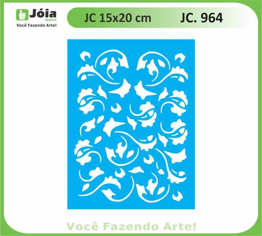 stencil JC 964