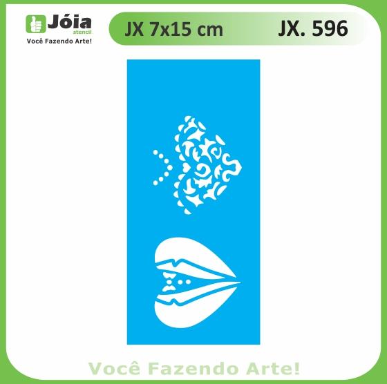 Stencil JX 596