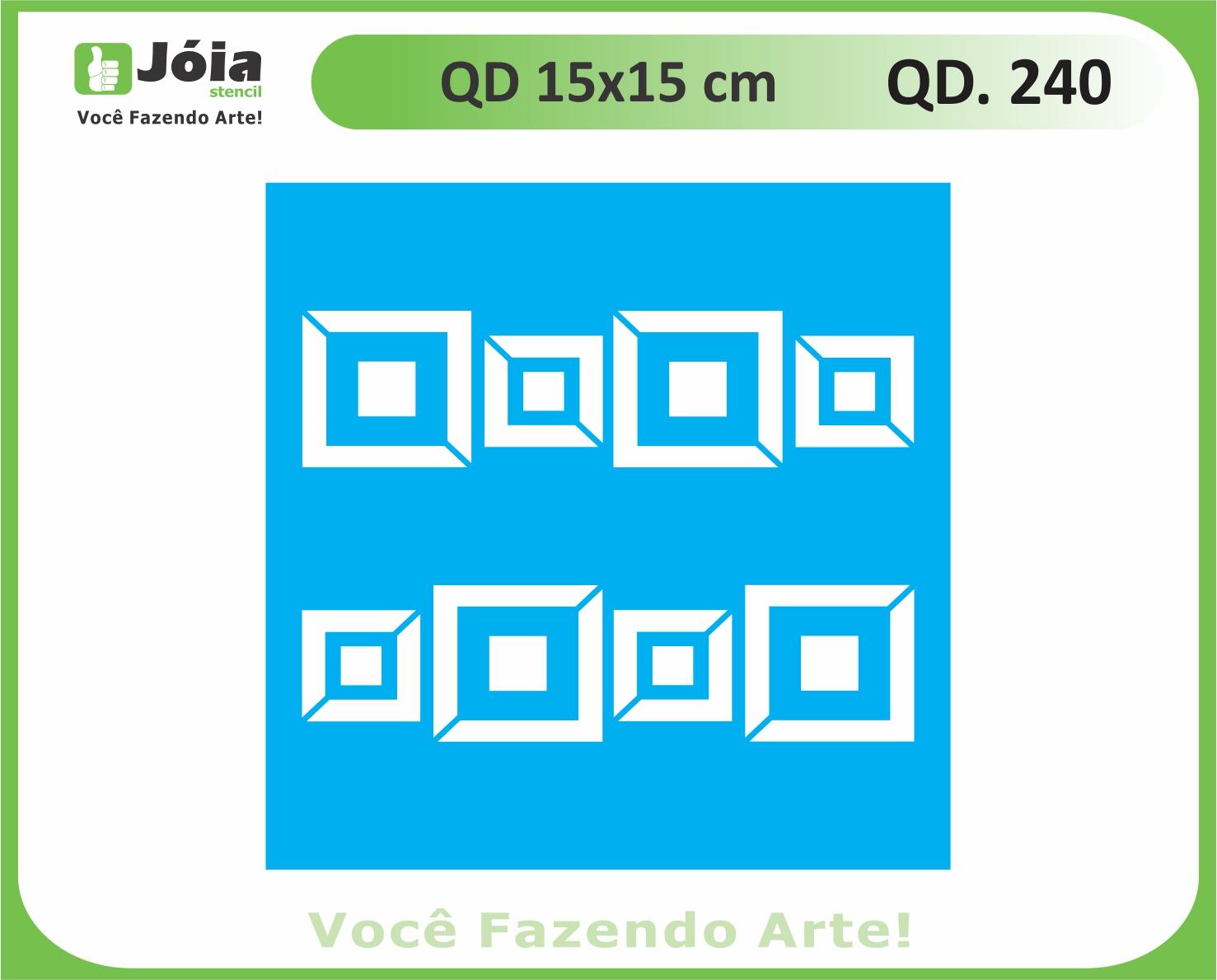 stencil QD 240