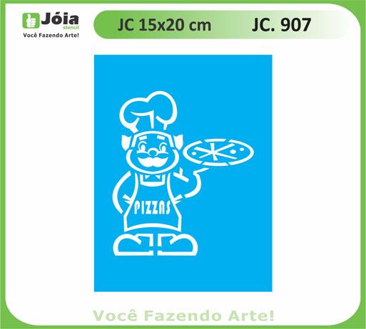 stencil JC 907