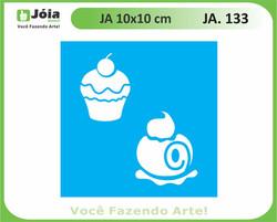 stencil JA 133