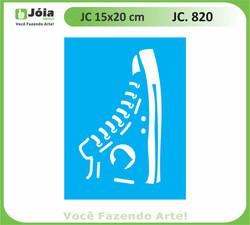 stencil JC 820