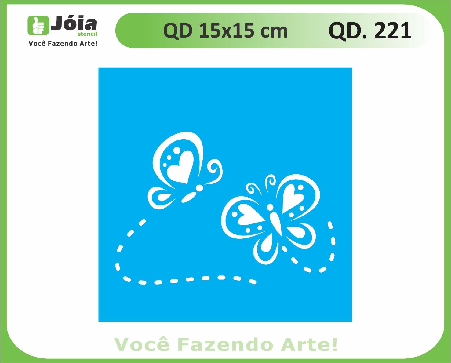 stencil QD 221