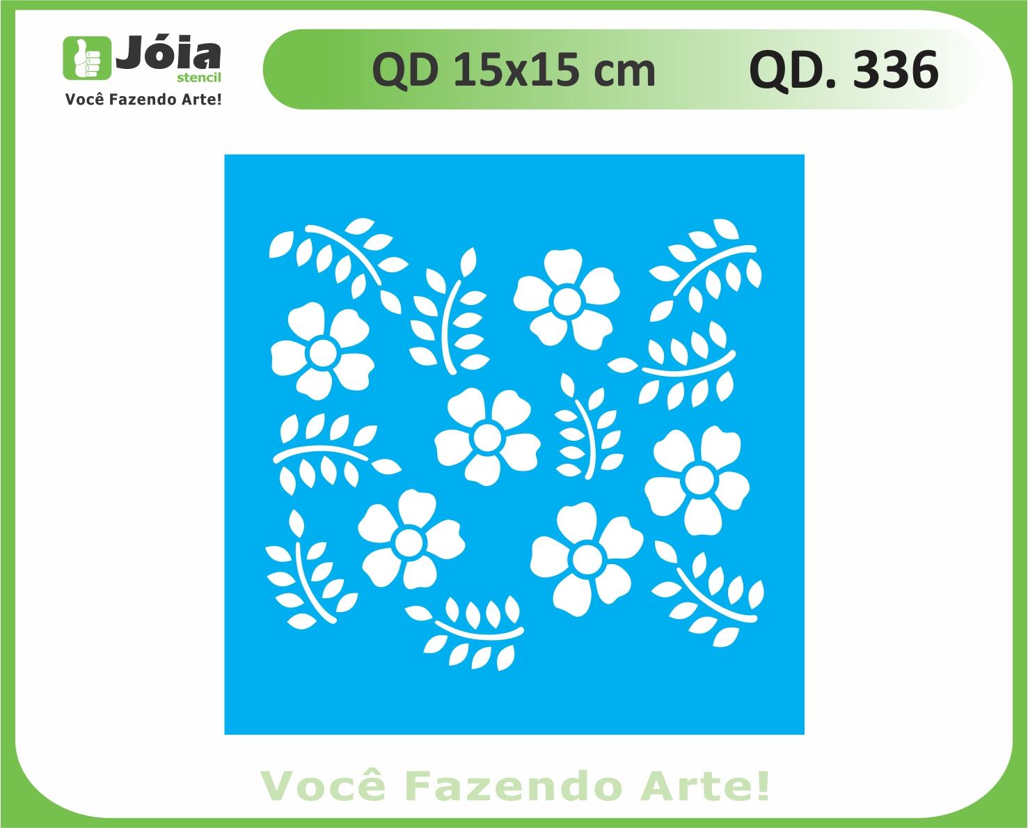 stencil QD 336