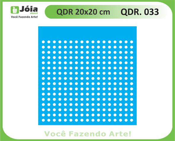 stencil QDR 033