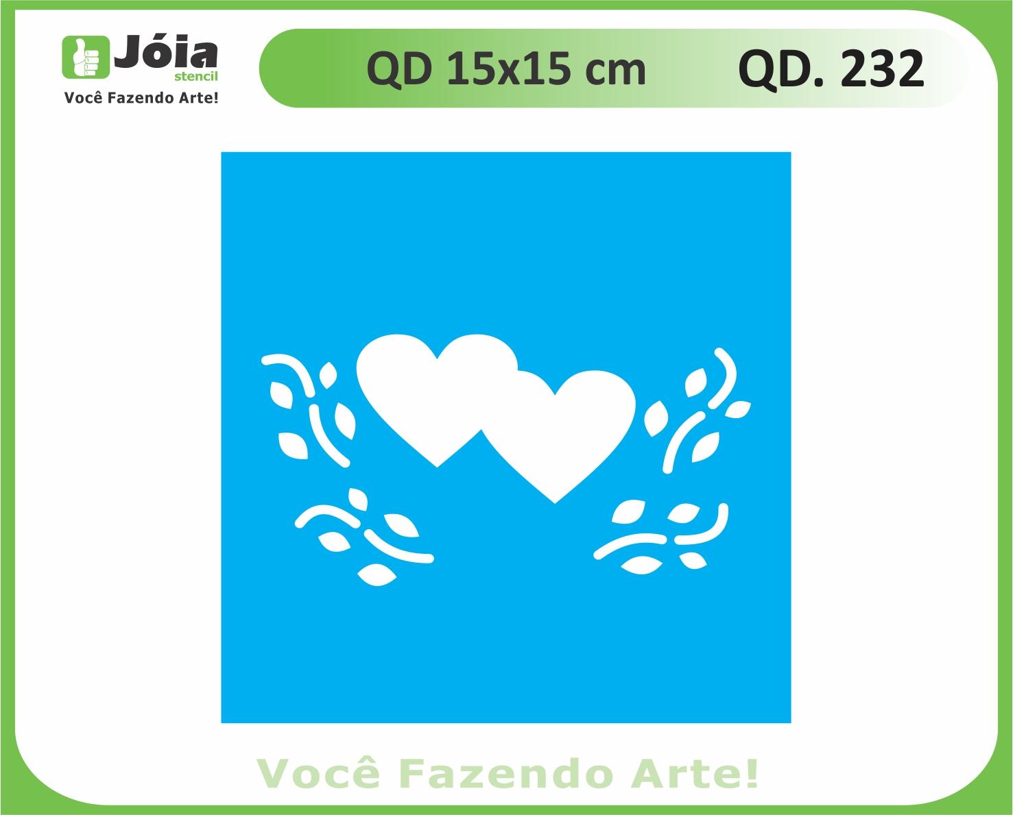 stencil QD 232