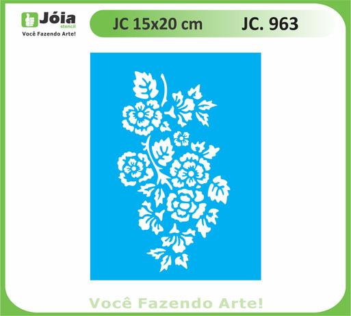 stencil JC 963