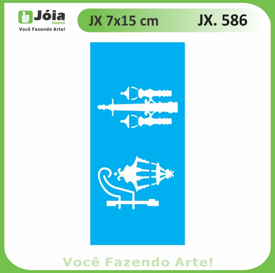 Stencil JX 586