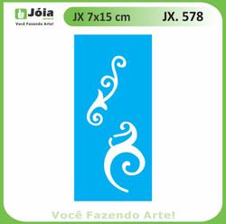 Stencil JX 578